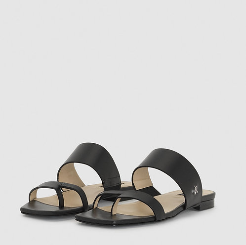Sandalo infradito nero Patrizia Pepe