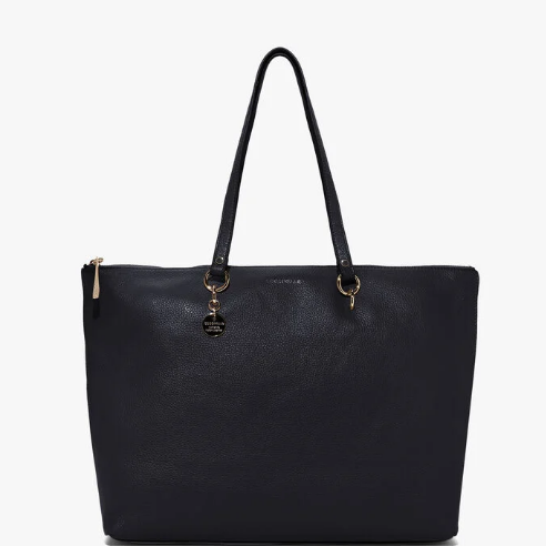 ALPHA SHOPPING BAG NERA - COCCINELLE