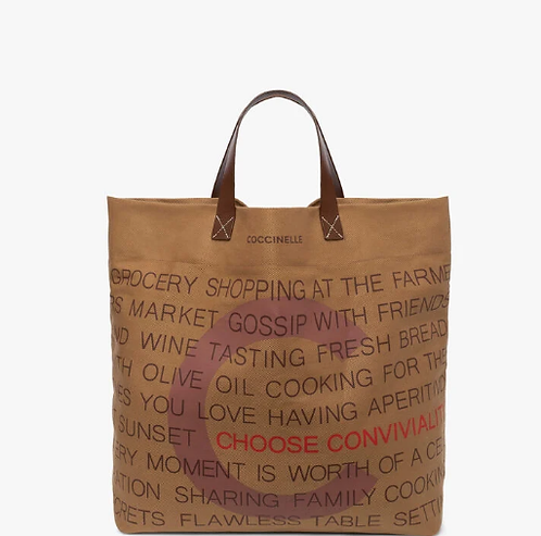EATALY BAG CANVAS - COCCINELLE