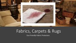 Carpet, Rugs & Fabric Protectors