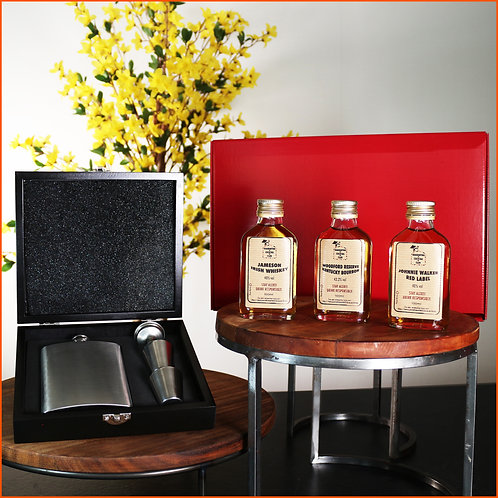 Whiskey Taster Gift Set Box