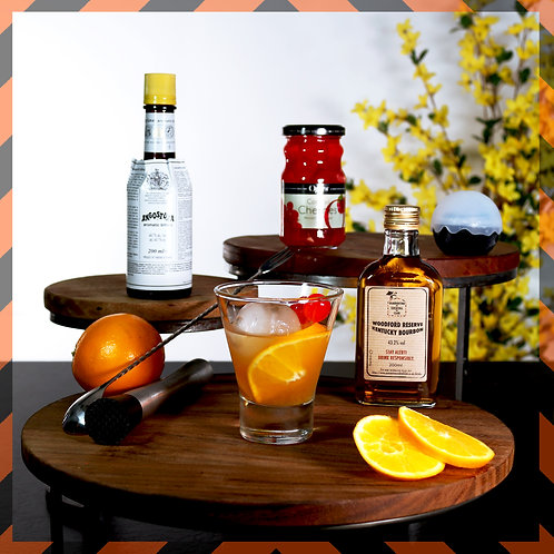 Cherry & Orange Old Fashioned | Box for 4