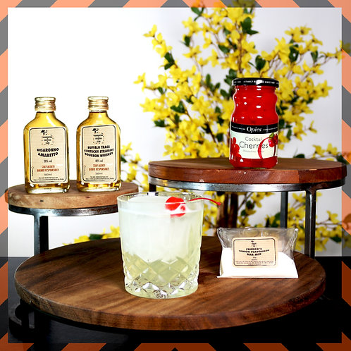 Amaretto Whiskey Sour   Boxes for 2 or 4