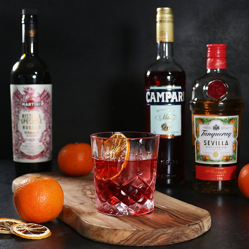 Seville Orange Negroni  | Boxes for 2 or 4