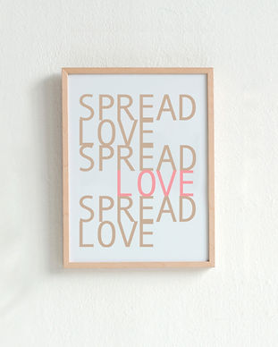 Spread Love Poster 3