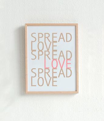 Spread Love Poster 3