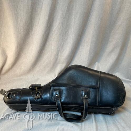 Vintage Leather Alto Sax Bag