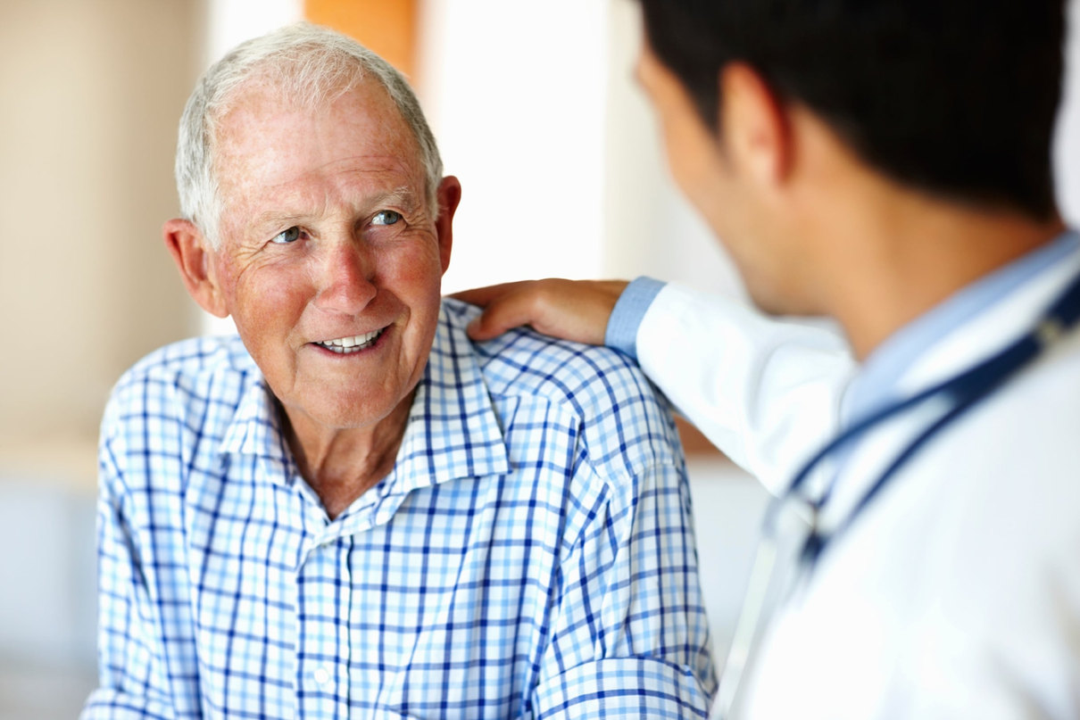 Healthcare worker and old patient_97447.