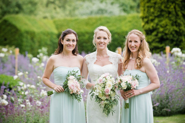 Bride and bridesmaids with hair down styles.jpg