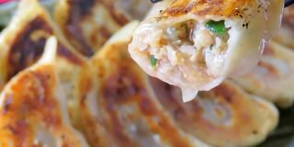 Holistic Cooking Class ONLINE - Japanese Street Food vol.4 Pot Stickers