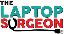 The Laptop Surgeon Logo. Computer and laptop repairs adelaide saisbry gawlr elizabet grange semaphore unley burnside tusmore crafers stiling hahndorf holden hill greenwith morphett vale happy valle
