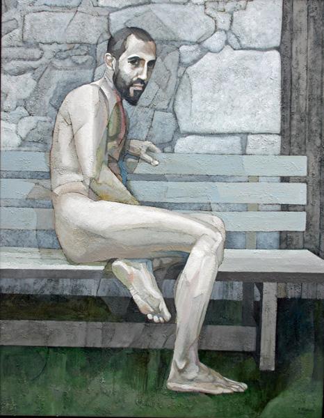 L-Nudes at perpigne Jose seated