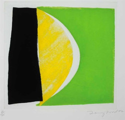 """""""Yellow, Black and Green"""", 2002"""