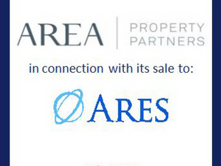 Ares Management Completes Acquisition of Area Property Partners