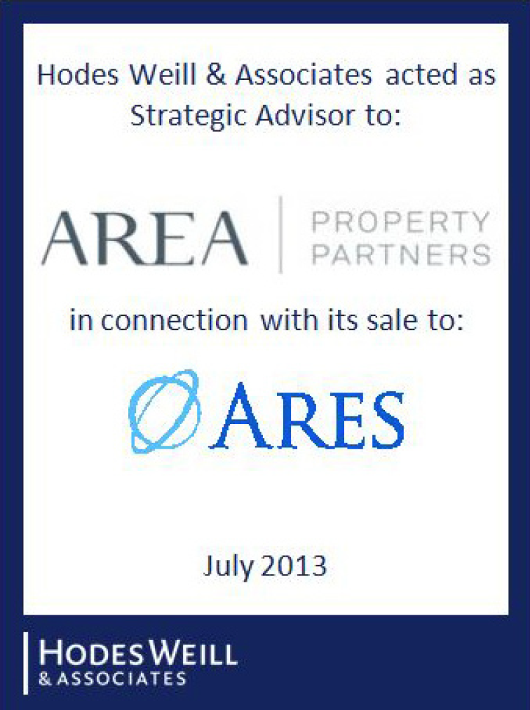 AREA Property Partners / ARES