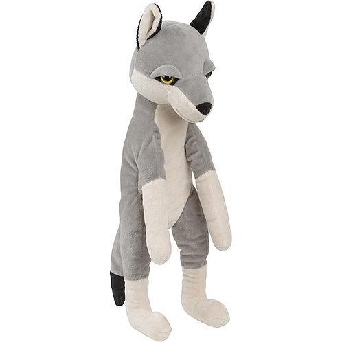Grande peluche loup