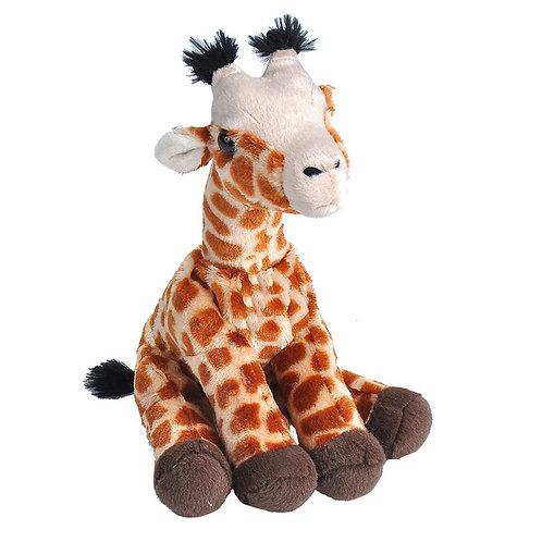 Peluche bébé girafe