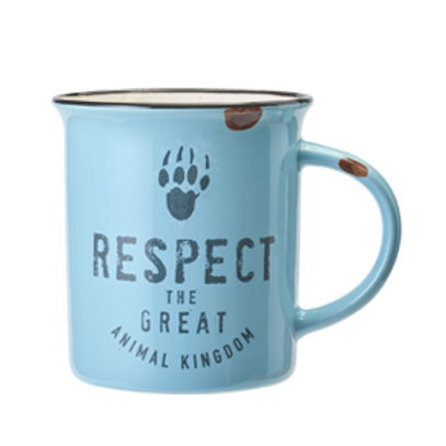 Mug Bleu Respect