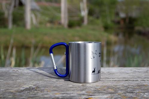 Mug mousqueton bleu