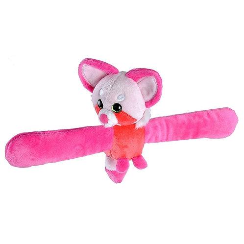 Bracelet/Peluche panda rose