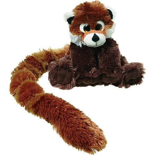 Peluche panda roux longue queue
