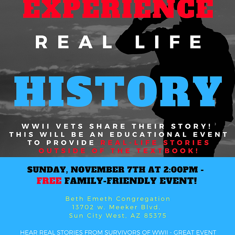 WWII Real Life History Event