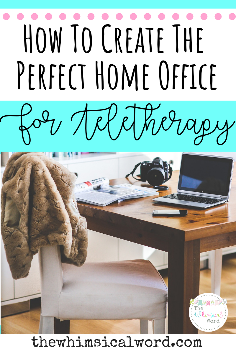 Teletherapy Home Office Space