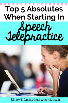 Top 5 Absolutes In Speech Telepractice