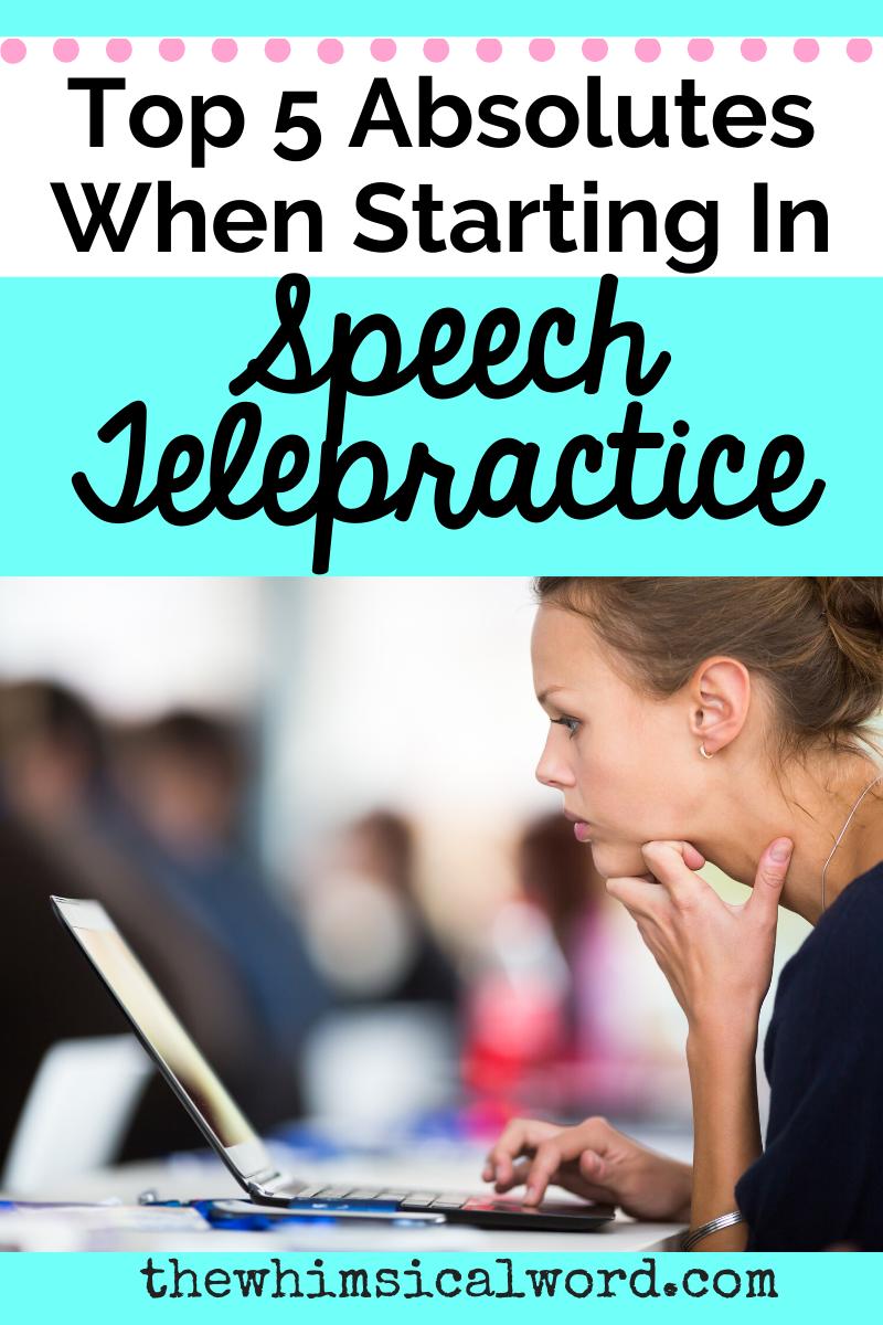 Speech Telepractice