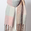 Thumbnail: Light Blue Mixed Plaid Scarf