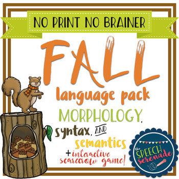 Fall Language No Print