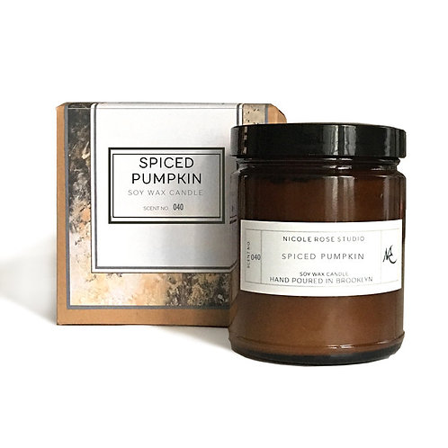 Spiced Pumpkin Soy Wax Candle