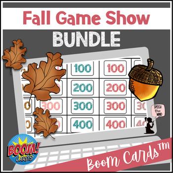 Fall Boom Cards