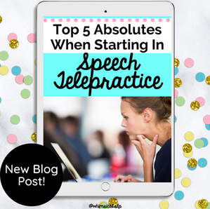 I've been blogging about Teletherapy since 2017.