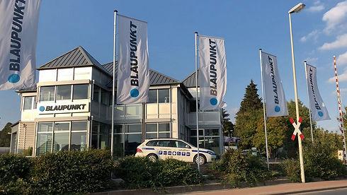 Blaupunkt Competence Center Car Multimedia Gebäude in Hameln