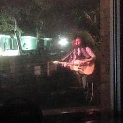 Awesome window shot taken by Matt Roth at the show last night.jpg