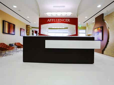 affluencer-office-lobby