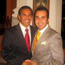 Dinner with LA Mayor Antonio Villaraigos
