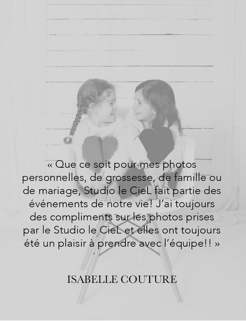 Studio le CieL, Claudie Lavoie, Photogra