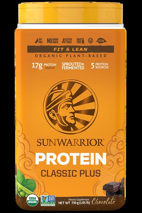 SUNWARRIOR Classic Plus Protein Schokolade
