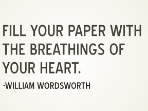 Write What You Feel