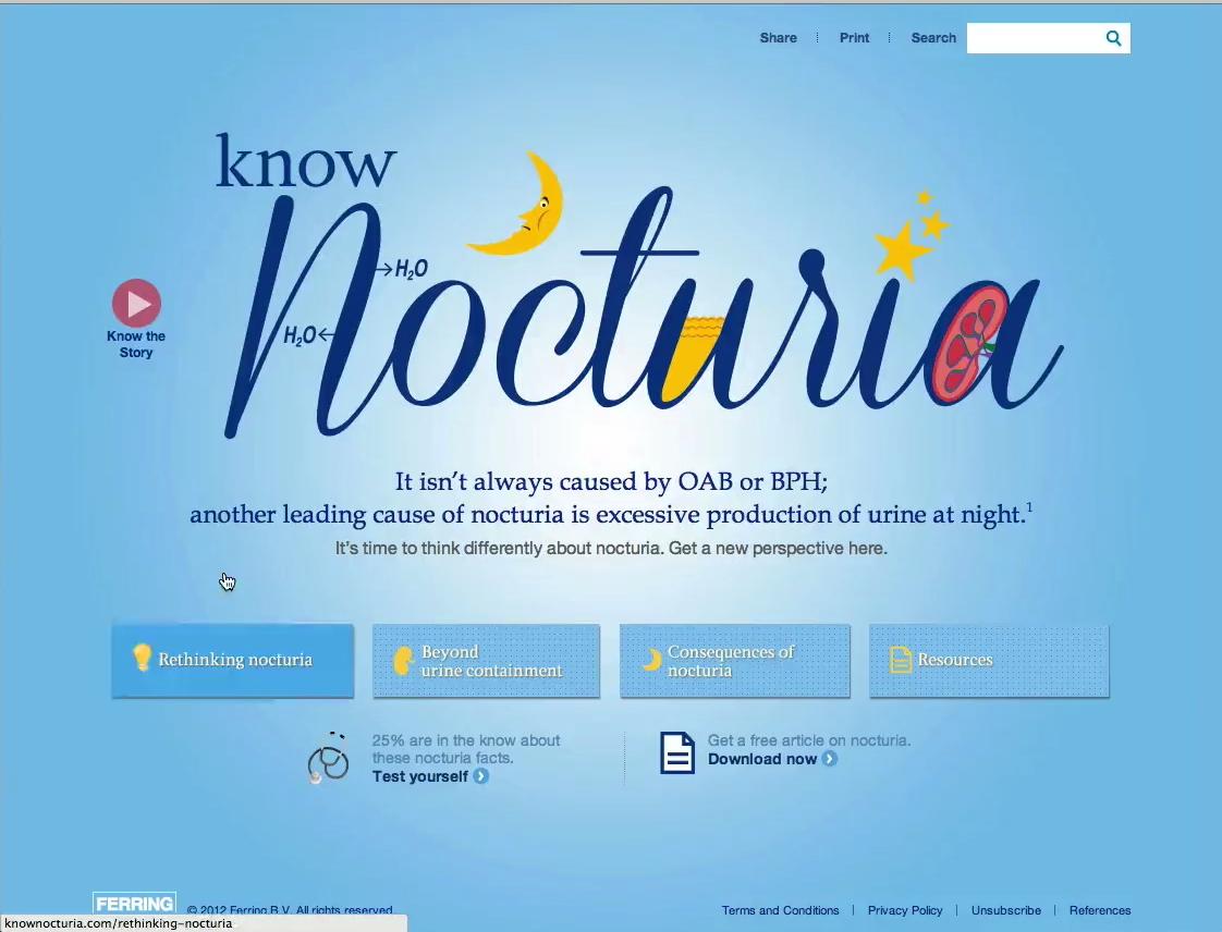 Know Nocturia