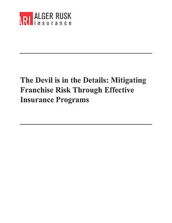 Devils in the Details Insurance Educatio