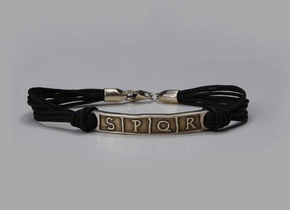 S.P.Q.R. bracelet