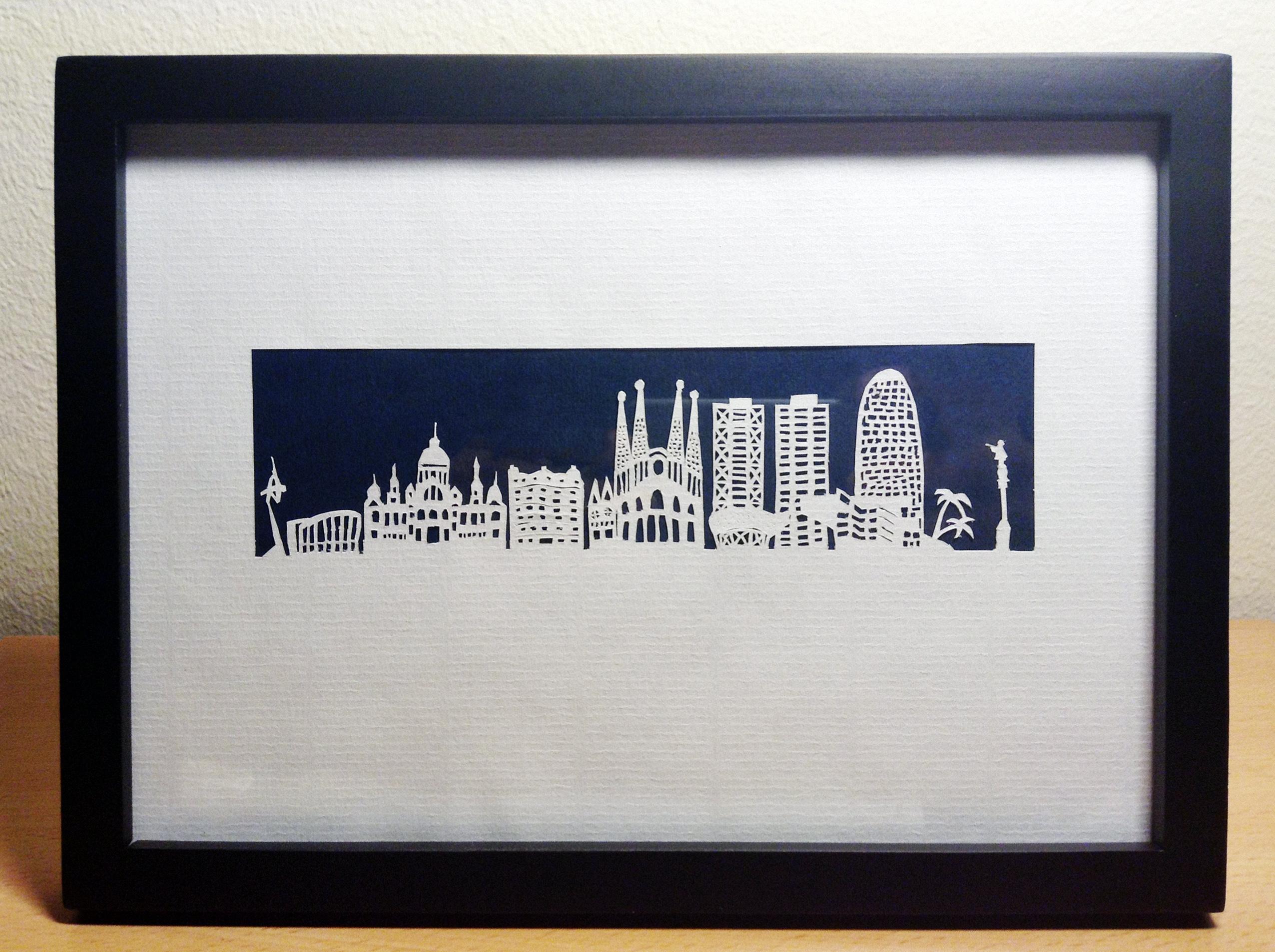Paper cut - Barcelona