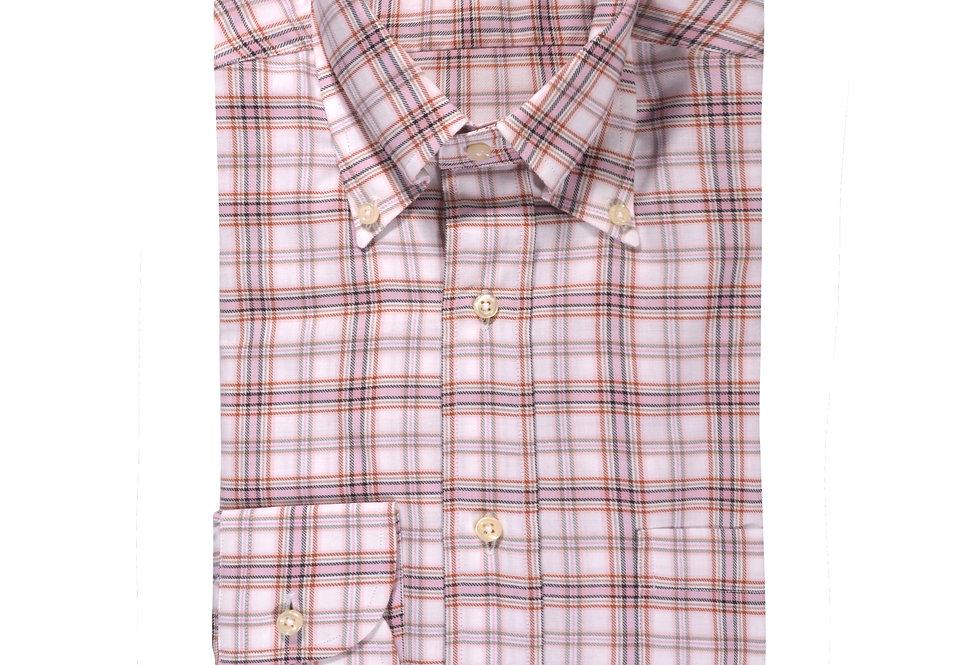 Camicia in puro twill di cotone