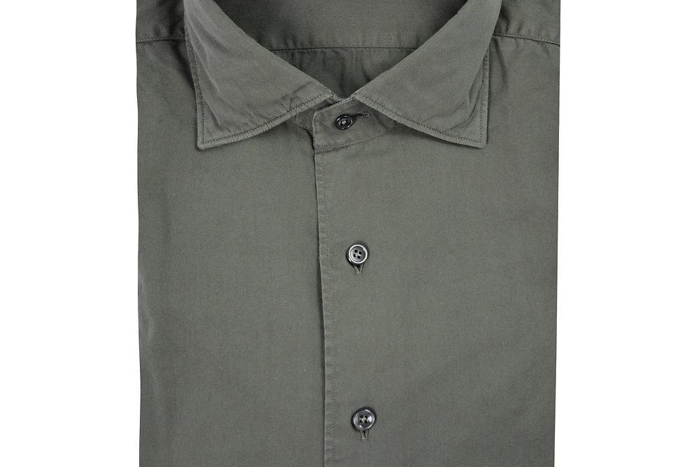 Camicia puro cotone Twill Washed