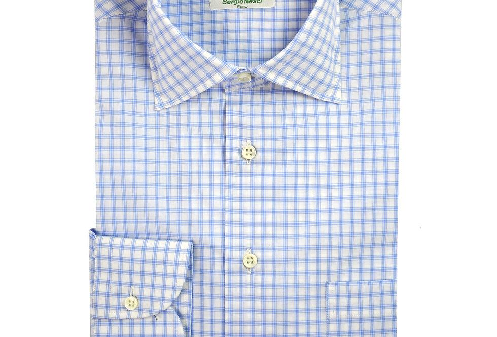 Camicia puro cotone tessuto Voile