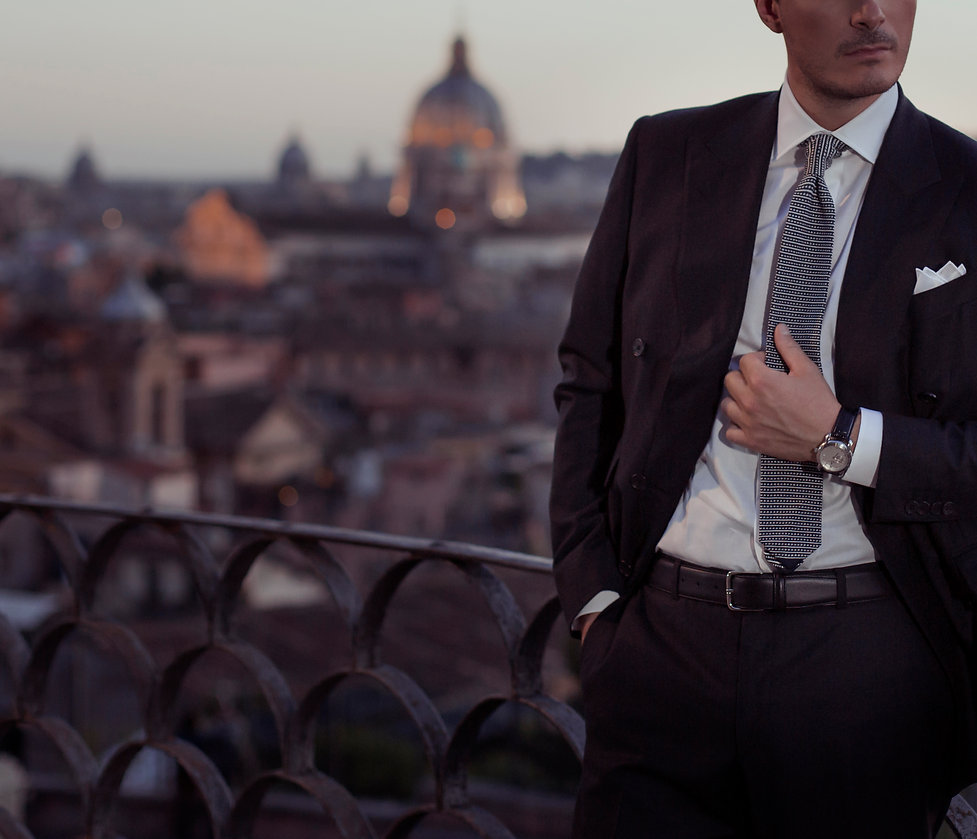 Roma Sergio Nesci abbigliamento di lusso stile italiano made i italy