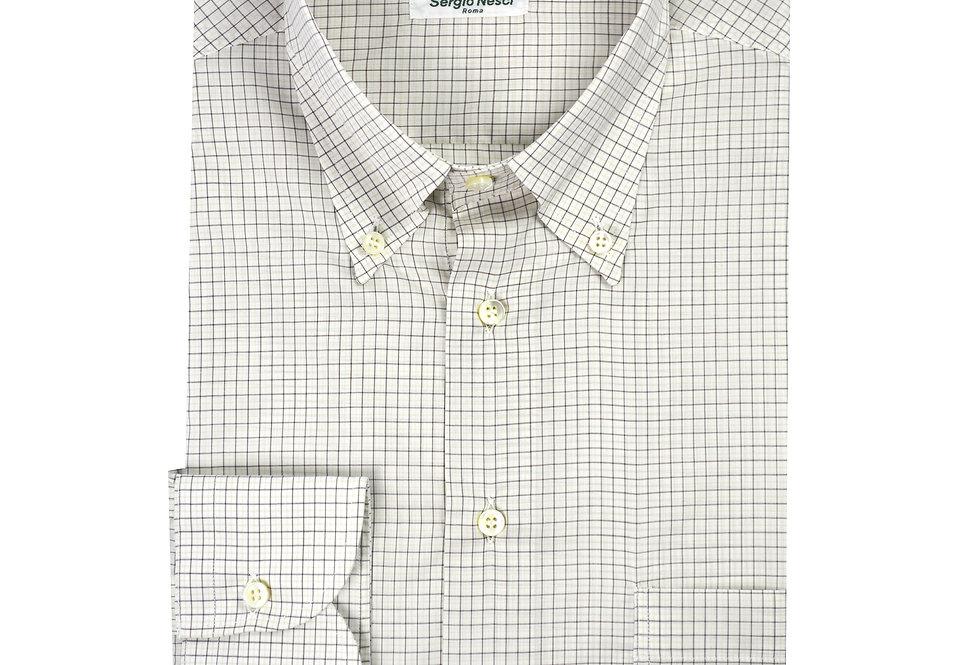 Camicia puro cotone tessuto Voile Carlo Riva